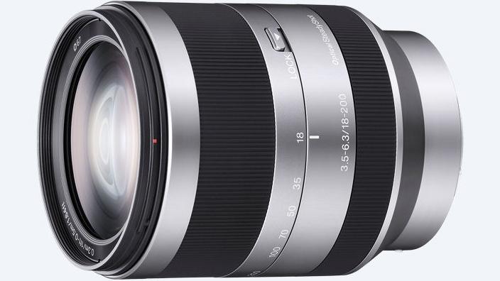 Sony E 18-200mm f/3.5-6.3 objektiiv