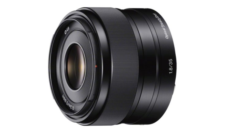 Sony 35mm f/1.8 OSS normaalobjektiiv