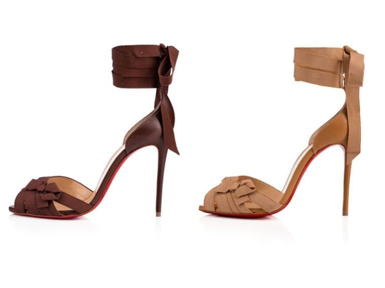 Christian louboutin added two versatile sandals to the nudes collectionand they're perfect for summer