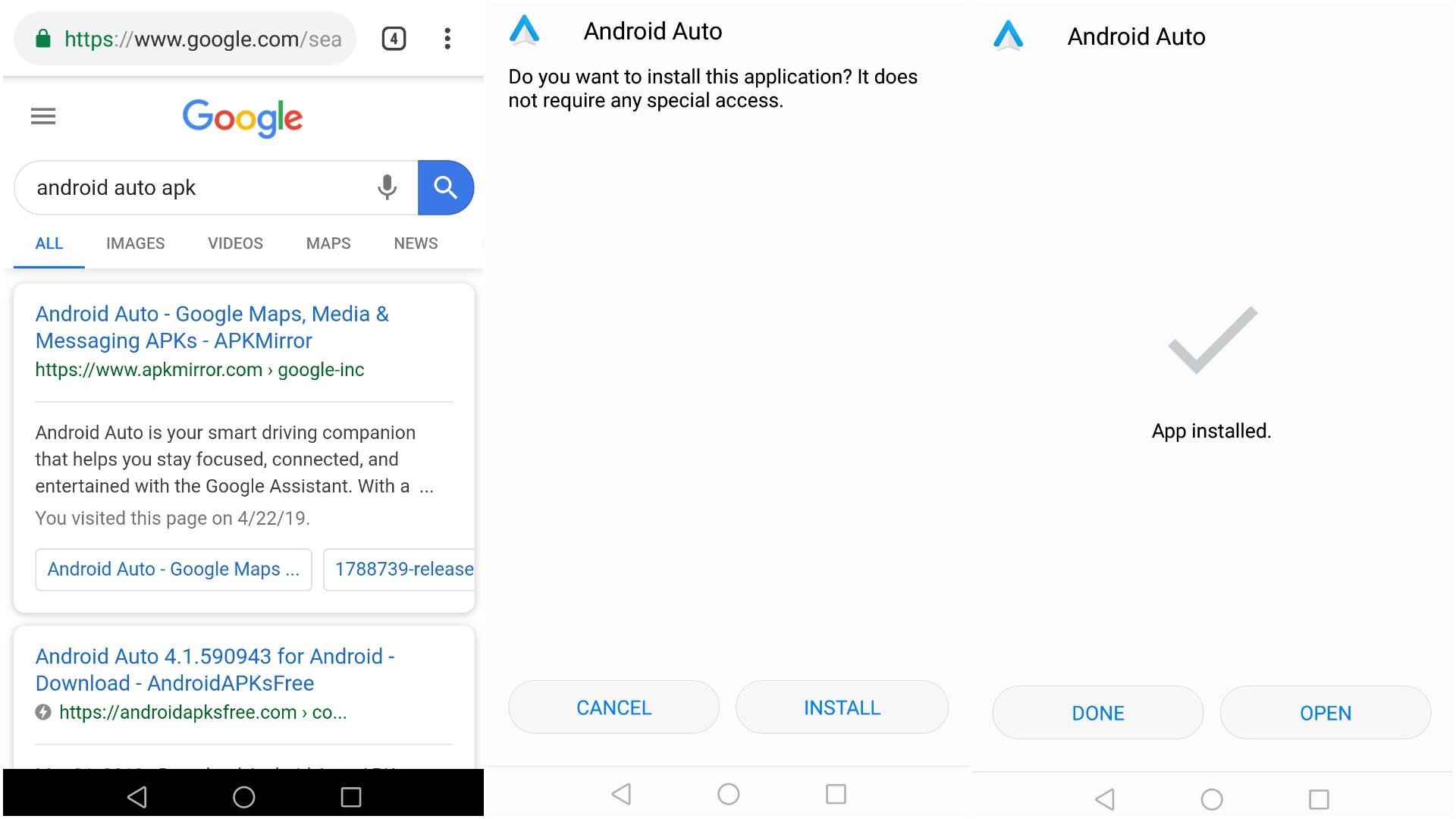 Kuidas Eestis enda telefoni Android Auto rakendus hankida?   Autogeenius